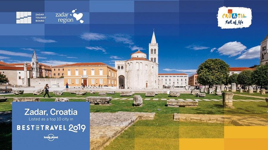 Veliko priznanje Hrvatskoj: Lonely Planet uvrstio Zadar na popis top 10 gradskih destinacija u 2019. godini