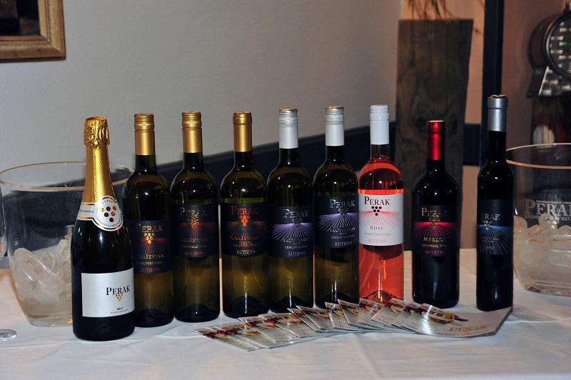 Vinarija Perak u restoranu Kalelarga održala veliku promociju